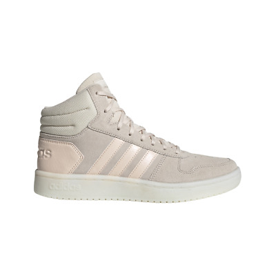 Adidas Hoops 2.0 Mid Shoes Black Women Sport Inspired