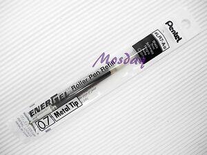 12-x-Pentel-Energel-LR7-A-0-7mm-Fine-Roller-Ball-Pen-Only-Refills-BLACK
