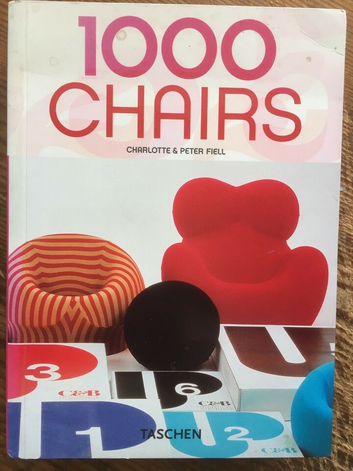 1000 CHAIRS - 624 s - 2005, Fiell, emne: design