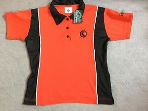 BRAND NEW INFLIGHT SPORTS TOP IN RED WITH BLACK - AGE 10Y BNWT
