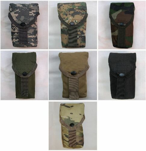 New Airsoft Molle Single Mag Armor Holder Pouch Flap Hook/&Loop Closure