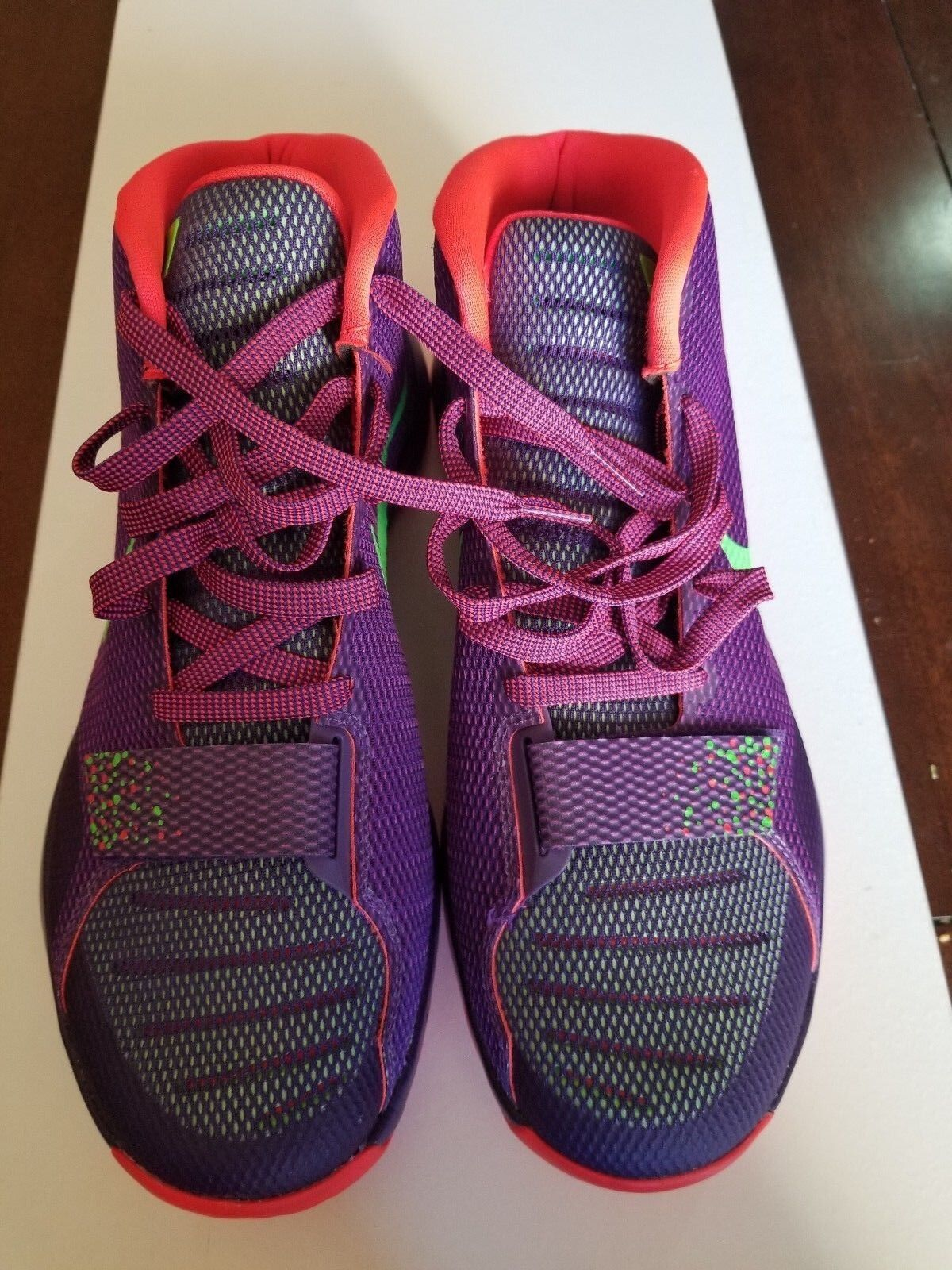 Nike KD Trey 5 III Mens Basketball Shoes 749377-536 Court Purple Green Size 11