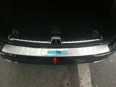 VOLVO XC60 REAR BUMPER SILL COVER PROTECTOR TRIM STAINLESS STEEL 2009-2017