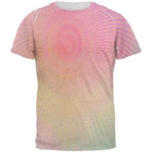 Edm Pastel para hombre Spiral Unicorn Rainbow camiseta wzqwvpTx