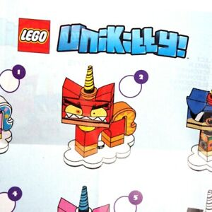 Lego-UNIKITTY-41775-Series-1-Choose-Your-Minifigure-L-K-minifigures