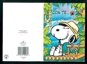 Anniversario Matrimonio Snoopy.Peanuts Schulz Snoopy Ticket Congratulations Gift Card Pop Up