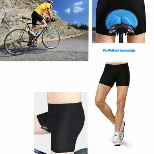 Men Bike Gel 3D Bicycle Cycling Riding Shorts Padded Pants Size S-XXXL Underwear