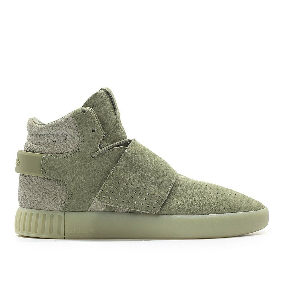 NEW MENS ADIDAS TUBULAR INVADER STRAP BB8391 SNEAKERS-SHOES-SIZE 11 Seasonal clearance sale