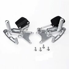 Yamaha YZF R1  NEW Billet Rearsets SILVER Yzf1000
