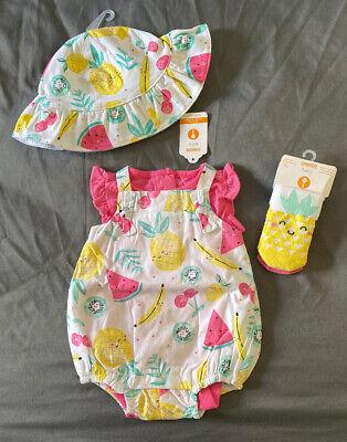 Gymboree Baby Lioness 6-12-18-24 02 Pants Bodysuit Crib Shoes Orange Floral