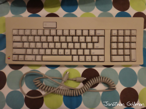 Details about Apple Keyboard for Macintosh SE IIgs ADB Desktop Bus Mac  Vintage M0116