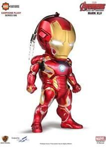 Kids-Logic-Marvel-Avengers-Age-of-Ultron-EarPhone-Plug-006-Iron-Man-MK45-NO-BOX
