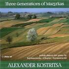 Three Generations of Mazurkas von Alexander Kostritsa (2014)