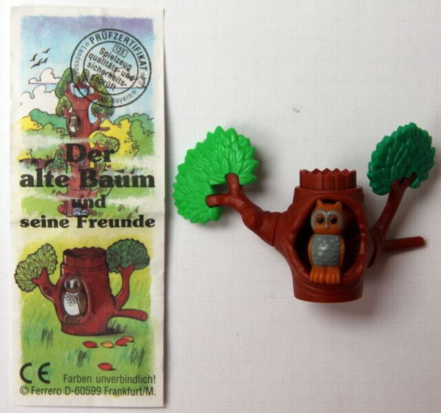 """(1998) """"Schlaue Eule"""" aus Serie: """"Der alte Baum und seine Freunde"""" mit BPZ"""