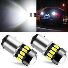 1157 14smd White Led Back Up Reverse Light Bulbs For Chevy Corvette C5 1997 2004