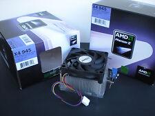 Genuine-AMD-Phenom-II-CPU-Cooler-Heatsink-Fan-for-X4-95W-Processor-AM3-AM2 - New