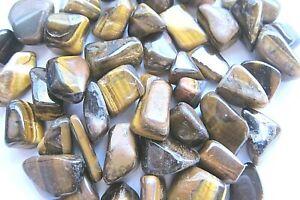 ONE-Golden-Tiger-Eye-Tumbled-Stone-20-30mm-Healing-Crystal-Reiki