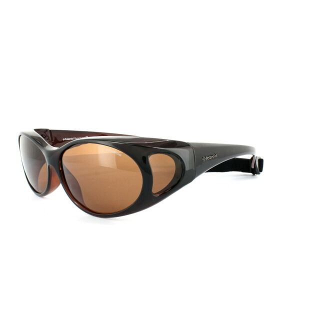 8dccf71dc6 Polaroid Suncovers Fitover Sunglasses P8900 09Q HE Brown Copper Polarized