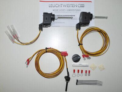 Umbaukit elektr.Leuchtweitenregulierung für Mercedes G-Modell BW Wolf 12 Volt