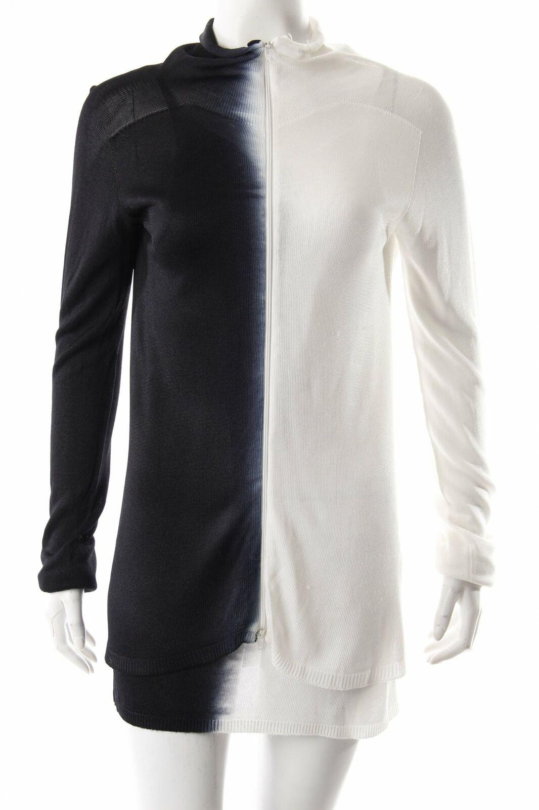 TWIN-SET NERO-Bianco con sfumatura di colore da donna tg. de 38 TWIN SET MAGLIA TWIN SET