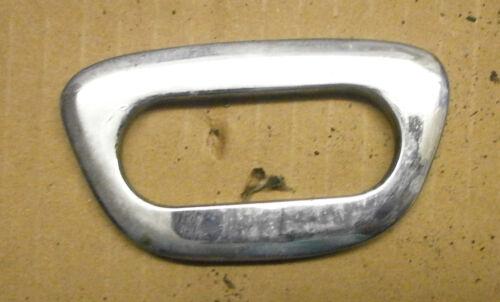 ROLLS ROYCE  SILVER SHADOW 1  BENTLEY T 1966 CHROME DOOR HANDLE FINISHER