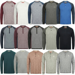 New-Mens-Tokyo-Laundry-Branded-Soft-Jersey-Long-Sleeve-Tops-T-Shirts-Size-S-XL