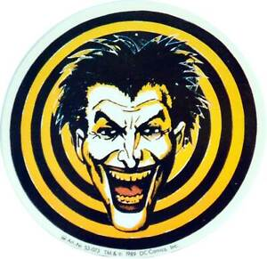 Batman-JOKER-Aufkleber-Auto-Car-Door-Decal-Sticker-10-cm-original-1989