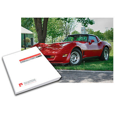 1968 Corvette C3 Assembly Instruction Manual 623592