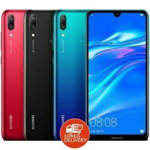 Nueva marca HUAWEI Y7 (2019) Unlock - 32GB-13MP-3GB Ram-Desbloqueado - 4G Teléfono Inteligente