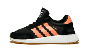 Adidas INIKI RUNNER W Black Semi Flash Orange Sneaker BY9098 (424) Women's Shoes
