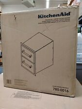 18 KitchenAid 780-0016 Built-in Grill Cabinet Drawer Storage Stainless