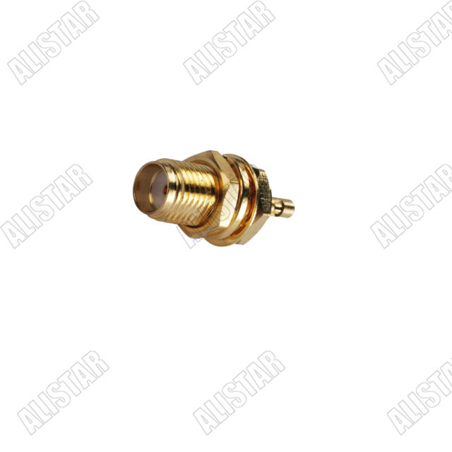 10X SMA male plug solder for RG178 RG196 coax cable RF connector
