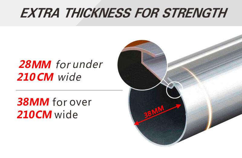 Sunscreen Roller Blind 60cm 240cm Width X 120 Or 210cm