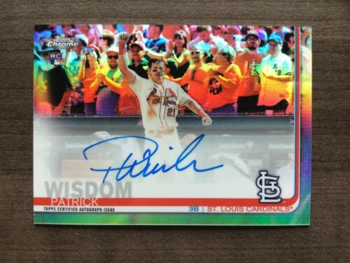 2019 Topps Chrome Rookie Autographs Refractor Parallels #/'d//499 ~ Pick your Card