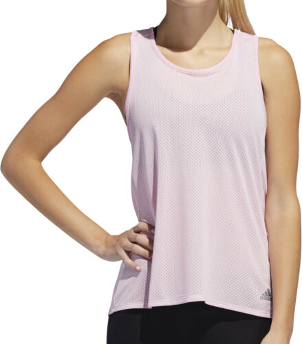 mangas sin para Adidas correr Response Rosa mujer con Camiseta Light para chaleco Speed qIqXFwTxO