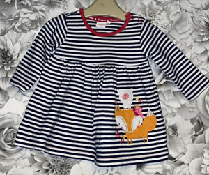 Girls Age 3-6 Months - Bluezoo Long Sleeved Dress
