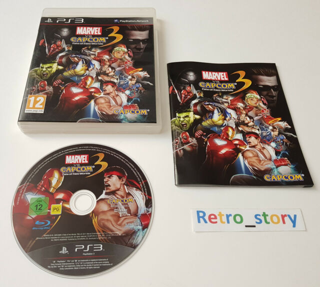 Sony Playstation PS3 - Marvel VS Capcom 3 Fate Of Two Worlds - PAL