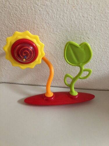 Replacement Spinning Flower Leaf Toy Bright Starts Bounce Bounce Baby Red Blue