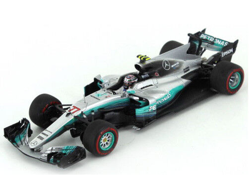 SPARK MODEL S5031 MERCEDES V.BOTTAS F1 W08 V.BOTTAS MERCEDES 2017 N.77 WINNER RUSSIAN GP 1:43 f37b12