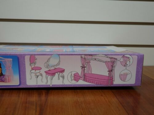 2624 Gloria,Barbie Size Doll Furniture// Rose Palace Sweet Dream Bed Room