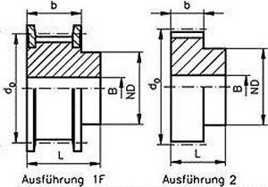 Zahnriemenrad-HTD-5M-fuer-Riemenbreite-15-mm-Waehlen-Sie-Zaehne-und-Ausfuehrung