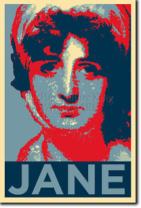 JANE-AUSTEN-PHOTO-PRINT-POSTER-GIFT-OBAMA-HOPE-INSPIRED-PRIDE-AND-PREJUDICE