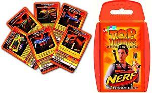 NERF-Kartenspiel-Quartett-neu-mit-N-Strike-Elite-Vortex-Blastern-Karten-Cards