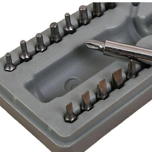 Set 28pz cacciaviti varie punte alta qualita fai da te utensili manuali acciaio