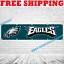 miniature 2 - Philadelphia Eagles Banner Flag 2x8 ft 2020 NFL Fan Club Wall Home Decor NEW