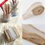 2M-Burlap-With-Lace-Natural-Hessian-Ribbon-Trim-Edge-Wedding-Rustic-width-2-5cm thumbnail 5