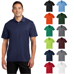 Sport Tek Mens Tall Micropique Sport Wick Polo Collared Dry Sport Shirt Tst650 Ebay Smooth micropique polos that wick moisture and resist snags. ebay