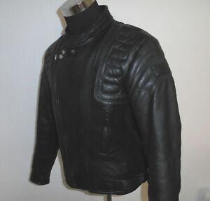 vintage-JUMBO-international-80s-Motorradjacke-Leder-oldschool-Bikerjacke-54-M