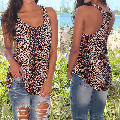 Fashion Womens Cute Summer Vest Top Sleeveless Blouse Casual Tank Tops T-Shirt