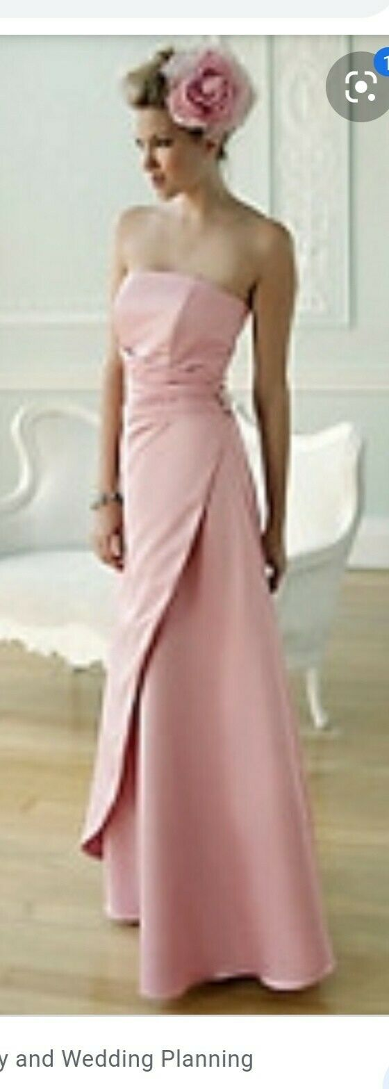New BHS Baby Pink Bridemaid/Prom Dress BNWT RRP size 16